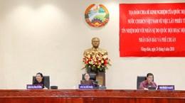 Việt Nam chia sẻ với Lào kinh nghiệm về lấy phiếu tín nhiệm