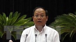 Thi hành kỷ luật đối với Phó Bí thư Thành ủy TP.HCM Tất Thành Cang