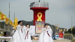 Hàn Quốc có nhiều hoạt động tưởng niệm các nạn nhân vụ chìm phà Sewol