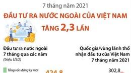 7 tháng năm 2021, đầu tư ra nước ngoài của Việt Nam tăng 2,3 lần