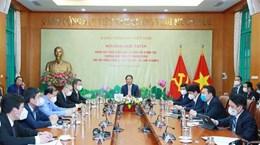 Trưởng ban Kinh tế TW làm việc với hội đồng kinh doanh Hoa Kỳ-ASEAN