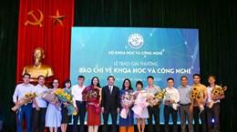 VietnamPlus giành Giải thưởng báo chí về khoa học và công nghệ 2020