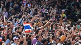 Campuchia bác tin công dân tham gia biểu tình ở Thái Lan