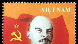 Phát hành bộ tem nhân kỷ niệm 150 năm ngày sinh V.I.Lenin