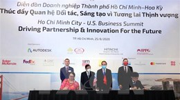 TP Hồ Chí Minh và Hoa Kỳ hợp tác trong xây dựng đô thị thông minh