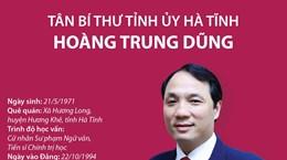 [Infographics] Tân Bí thư Tỉnh ủy Hà Tĩnh Hoàng Trung Dũng