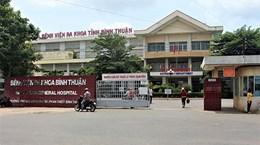 Tạm đình chỉ chức vụ Phó Giám đốc Bệnh viện đa khoa Bình Thuận