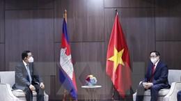 Thủ tướng Phạm Minh Chính gặp lãnh đạo Campuchia, Singapore, Malaysia