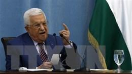 Tổng thống Abbas thảo luận tiến trình hòa bình với phái đoàn Israel