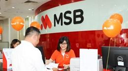 MSB đạt lợi nhuận trước trích lập dự phòng hơn 2.200 tỷ đồng