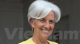 Bà Christine Lagarde nhậm chức Tổng Giám đốc IMF