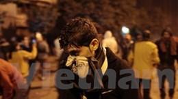 Ai Cập: Cảnh sát bắn hơi cay, 101 người bị thương