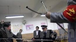 Trung Quốc tăng cường an ninh tại trường học