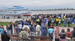 100 người vẫn mất tích vì đắm tàu ở sông Volga