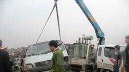 Thêm 2 nạn nhân tử vong sau vụ tàu hỏa đâm ôtô
