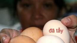 Sẽ sớm công bố thông tin về tẩy trắng vỏ trứng gà