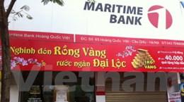 Bắt nóng đối tượng cướp chi nhánh Maritime Bank