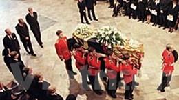 """Đám tang Diana """"vượt"""" lễ cưới hoàng gia Anh ở Mỹ"""