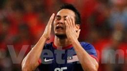 Malaysia bị thiệt quân nặng trước trận gặp Thái Lan