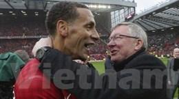 Ferdinand tặng món quà chia tay ý nghĩa cho Sir Alex