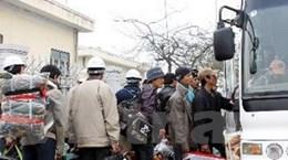 Thống nhất quy trình tuyển lao động về từ Libya