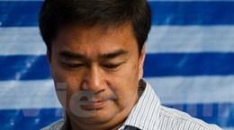 Ông Abhisit bị khởi tố