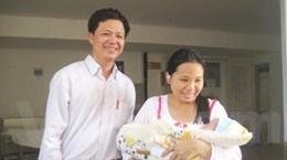 Cháu bé bị bắt cóc ở bệnh viện Phụ sản xuất viện