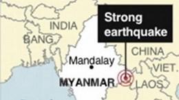 25 người thiệt mạng trong động đất tại Myanmar