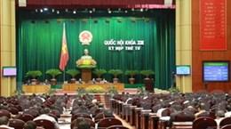 Thông qua Nghị quyết phân bổ ngân sách TW 2013