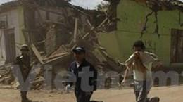 Lại xảy ra 2 đợt dư chấn 5,7 độ Richter ở Chile
