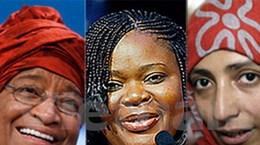 Ba phụ nữ được trao giải Nobel Hòa bình 2011