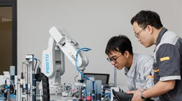 Việt Nam lần đầu triển khai đào tạo song hành ngành Cơ điện tử-ôtô