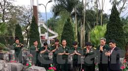 Hội Cựu chiến binh TTXVN tri ân các liệt sỹ hy sinh bảo vệ biên giới