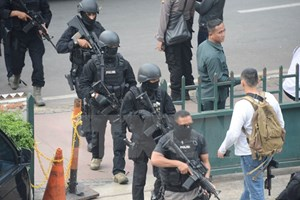 Những kẻ tấn công Jakarta đã sử dụng số điện thoại Malaysia