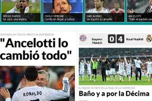 Truyền thông thế giới nói gì sau khi Real hạ bệ Bayern?