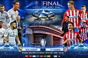 Dự đoán đội hình Real - Atletico ở chung kết Champions League