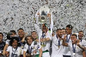 Real Madrid vô địch Champions League sau loạt 11m may rủi