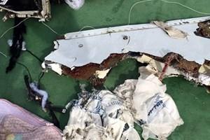 Đã tìm thấy hộp đen thứ hai của máy bay Ai Cập mất tích