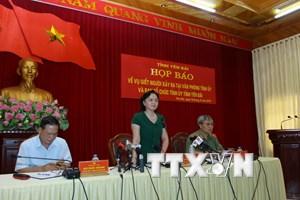 [Photo] Họp báo thông tin vụ lãnh đạo tỉnh Yên Bái bị bắn chết