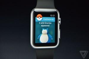 Trò chơi Pokémon Go sẽ cấp bến đồng hồ thông minh Apple Watch