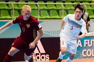 [Video] Cận cảnh trận đấu giữa Futsal Việt Nam - Futsal Nga
