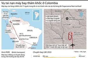 [Infographics] Vụ tai nạn máy bay thảm khốc tại Colombia