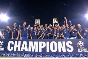 """Thái Lan xóa """"lời nguyền,"""" lần thứ 5 vô địch AFF Suzuki Cup"""