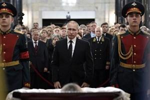[Photo] Tổng thống Putin và lãnh đạo Nga tiễn biệt Đại sứ Karlov