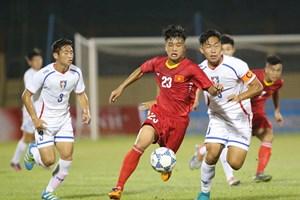 U19 Việt Nam đánh bại U19 Đài Bắc Trung Hoa ở trận ra quân