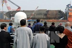 Hàn Quốc: Phát hiện xương nghi là của người bên trong phà Sewol
