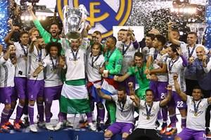 """Real Madrid phá """"lời nguyền,"""" lên ngôi tại Champions League"""