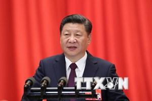 Trung Quốc công bố danh sách thành viên Bộ Chính trị khóa mới