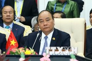 Thủ tướng dự Hội nghị Cấp cao Hợp tác Mekong-Lan Thương lần 2