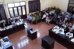 Video xét xử vụ án liên quan sự cố chạy thận làm 8 bệnh nhân tử vong